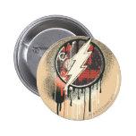 Flash - Twisted Innocence Symbol 2 Inch Round Button
