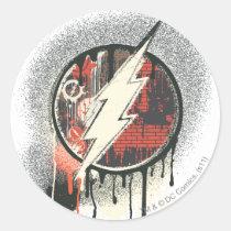 flash, lightning, bolt, barry, allen, wally, west, bart, bizarro, justice league heroes, justice, league, justice league logo, justice league, logo, hero, heroes, dc comics, comics, comic, comic book, comic book hero, comic hero, comic heroes, comic book heroes, dc comic book heroes, batman, bat man, the dark knight, superman, super man, green lantern, wonder woman, shazam, green arrow, hawk man, hawk woman, plastic man, firestorm, dr. fate, Sticker with custom graphic design