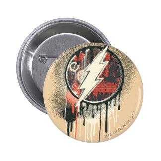Flash - Twisted Innocence Symbol Pinback Button
