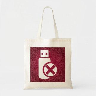Flash Usbs Minimal Budget Tote Bag
