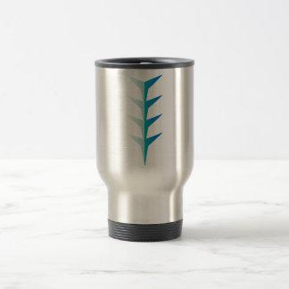 Flash - V - Aqua 15 Oz Stainless Steel Travel Mug