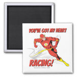 Flash - You've Got My Heart Racing Valentine Magnet