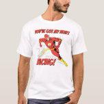 Flash - You've Got My Heart Racing Valentine T-Shirt
