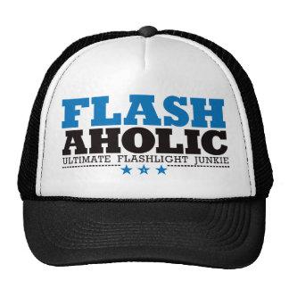 Flashaholic – Ultimate Flashlight Junkie - Blue Trucker Hat