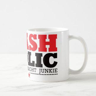 Flashaholic – Ultimate Flashlight Junkie - Red Classic White Coffee Mug
