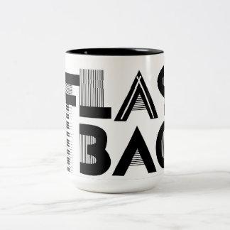 Flashback Logo Two-Tone Coffee Mug