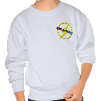 Flashback small logo pull over sweatshirt