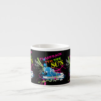 Flashback To The 80 s Neon Sneaker Espresso Cup