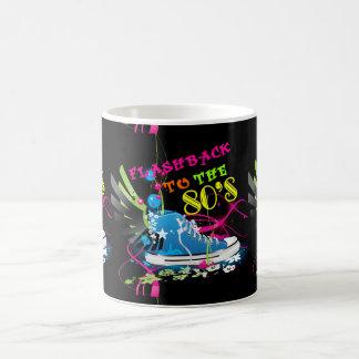 Flashback To The 80's Neon Sneaker Coffee Mug