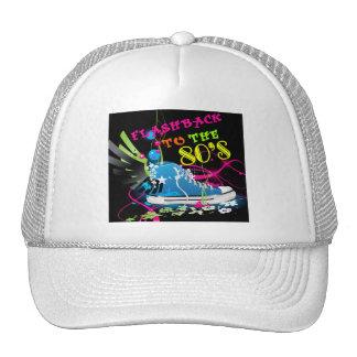 Flashback To The 80's Neon Sneaker Trucker Hat