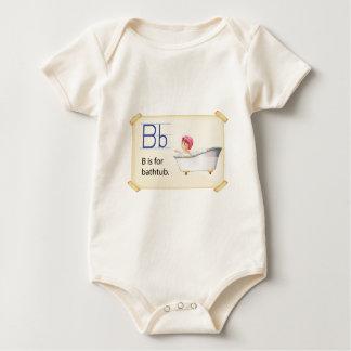 Flashcard del baño body de bebé