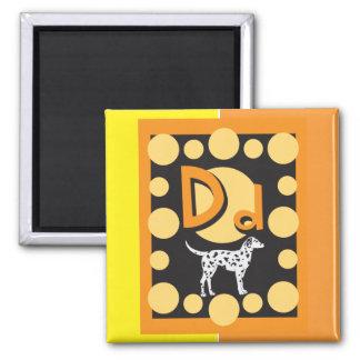 FlashCardD Refrigerator Magnets