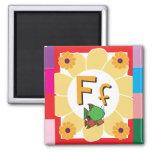 FlashCardF Imán De Frigorifico