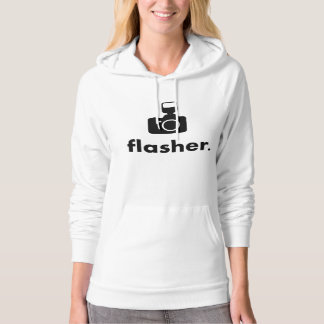 Flasher Photographer Camera Hoodie