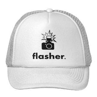Flasher Photographer Camera Trucker Hat
