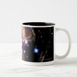 Flashes de la luz tazas de café