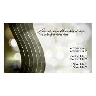 flashing lights business card templates