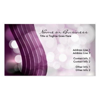 flashing lights business cards