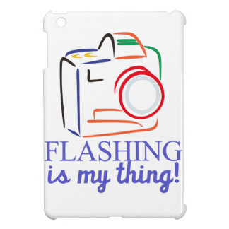 Flashing My Thing Case For The iPad Mini