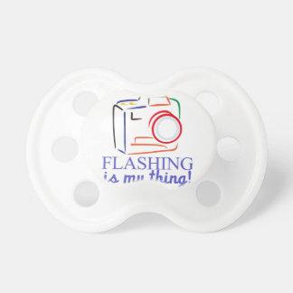 Flashing My Thing Pacifier