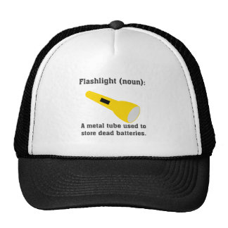 Flashlight definition funny t-shirts and more. trucker hat