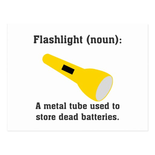 Flashlight definition funny t-shirts and more. post cards