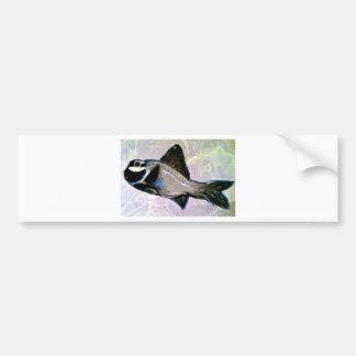 Flashlight Fish Bumper Sticker