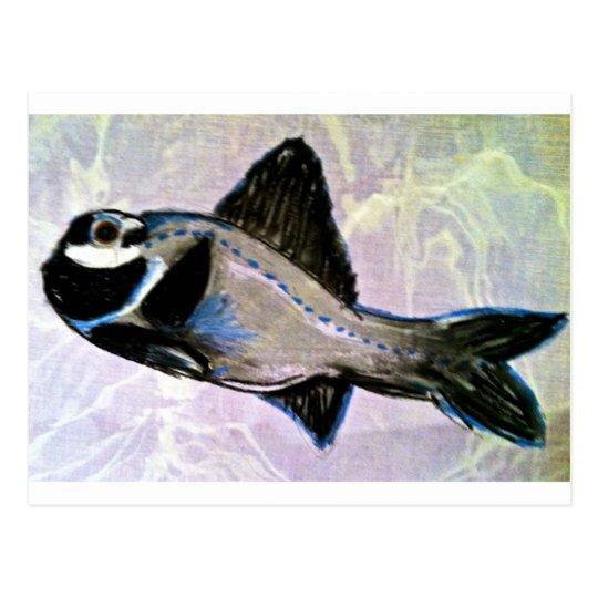 Flashlight Fish Postcard