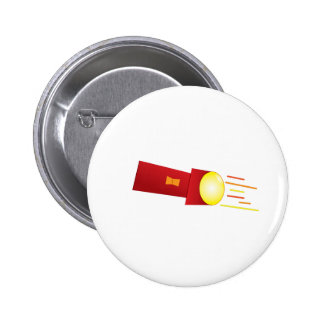 Flashlight Pinback Button