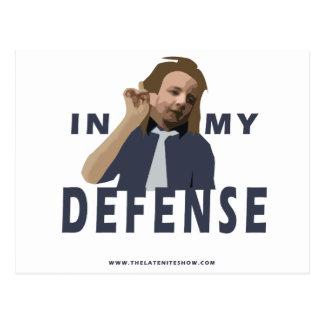 Flashman - In My Defense... Postcard