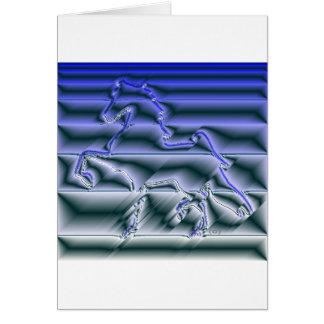 Flashy American Saddlebred Card