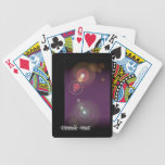 Flashy Background - 2 Poker Cards