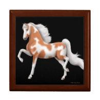 Flashy Gaited Horse Gift Box