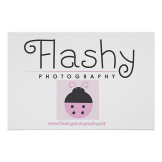Flashy Photography Poster