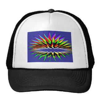 flashy purple trucker hat