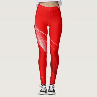 Flashy Red Leggings