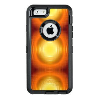 flashy retro pattern OtterBox defender iPhone case