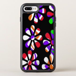 flashy retro pattern OtterBox symmetry iPhone 8 plus/7 plus case