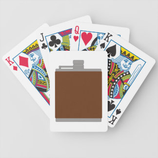 Flask Bicycle Playing Cards