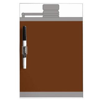 Flask Dry Erase Board