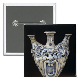 Flask, Florentine Workshop Pinback Button