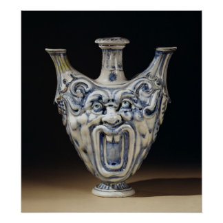 Flask, Florentine Workshop Print