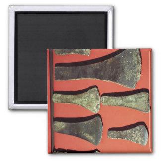 Flat Axes, prehistoric Magnet