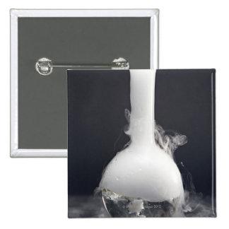 Flat-bottom Flask Pinback Button