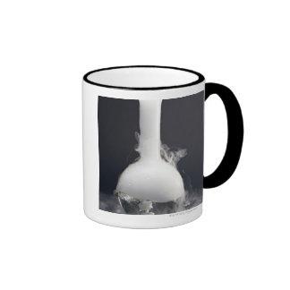 Flat-bottom Flask Ringer Mug