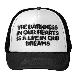 Flat cap trucker hat