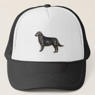 Flat Coat Retriever Trucker Hat