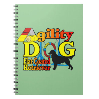 Flat Coated Retriever Agility Notebook