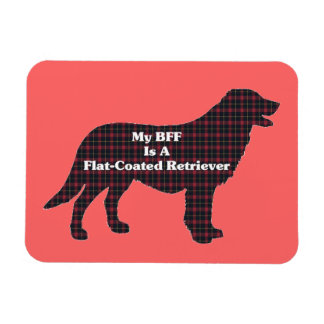 Flat-Coated Retriever BFF Magnet