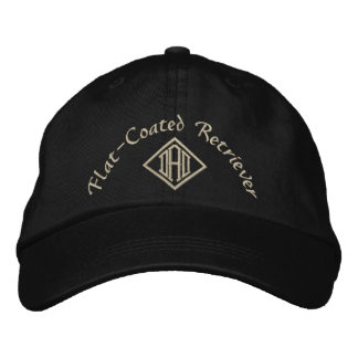 Flat Coated Retriever Dad Gifts Embroidered Baseball Hat